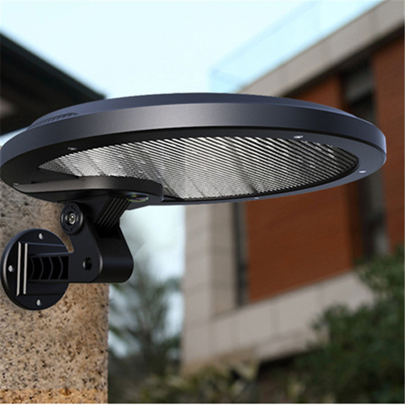 Outdoor Garden Solar Panel LED Light PIR Motion Sensor Waterproof Wall Gate Indoor Lamp Body Induction Garland Lighting Decor