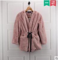 2017 Autumn And Winter New Imitation Fur Coat Female Korean Version Was Thin Long Imitation Rabbit