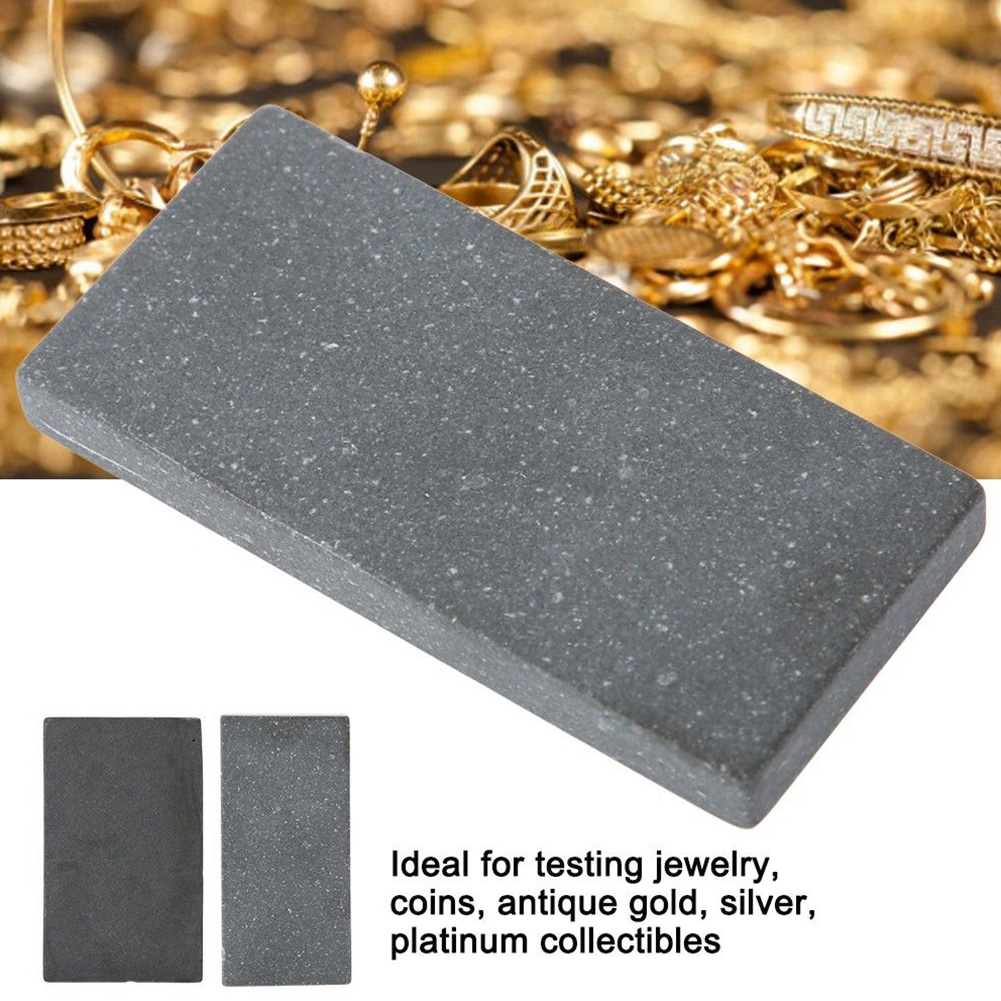 Gold Detection Easy To Use Scratch Test Stones Metal Testing Equipment Making Acid Platinum Pawnshop Supplies Goldsmithing Tools