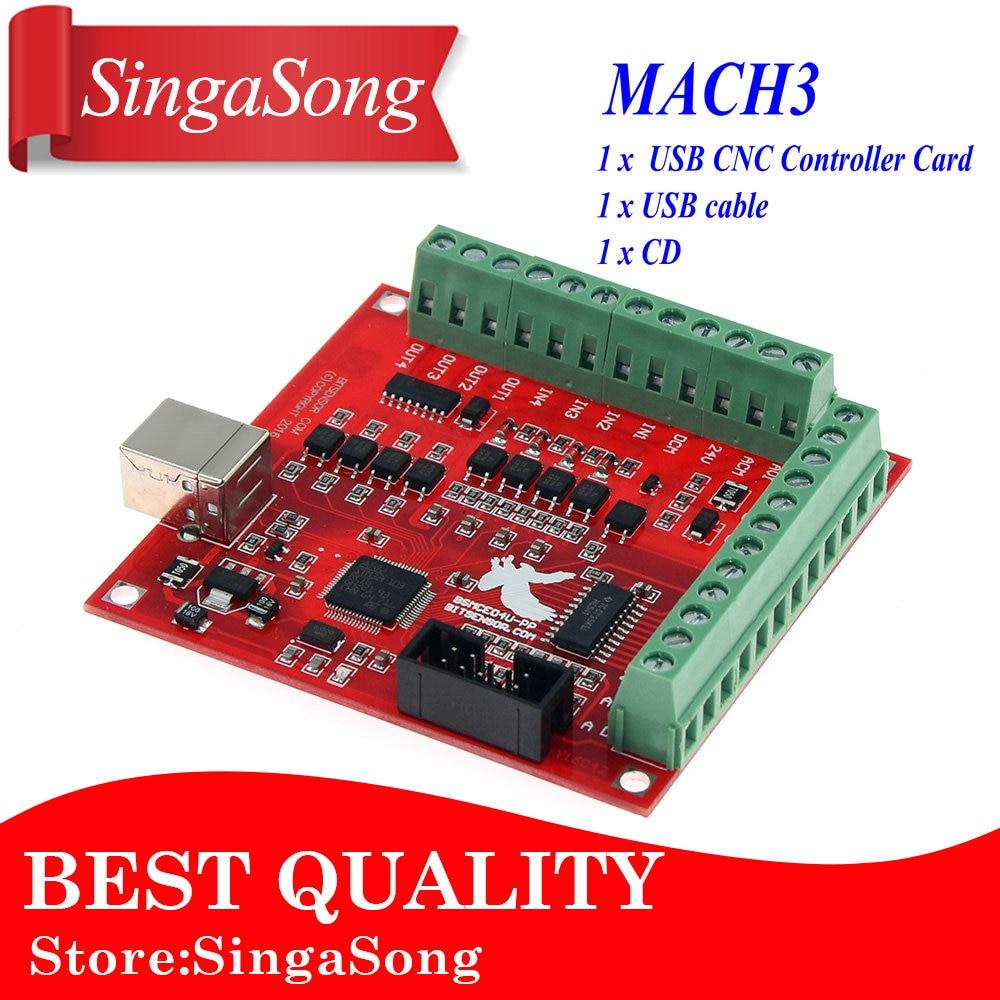 top 9 most popular mach3 usb cnc 4 axis stepper motor controller