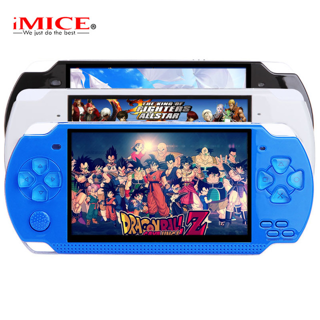 X6 Portable Handheld Game Console 8GB 4.3'' 32Bit 100 Childhood Classic Games Built-In Portable Handheld Video Game Player