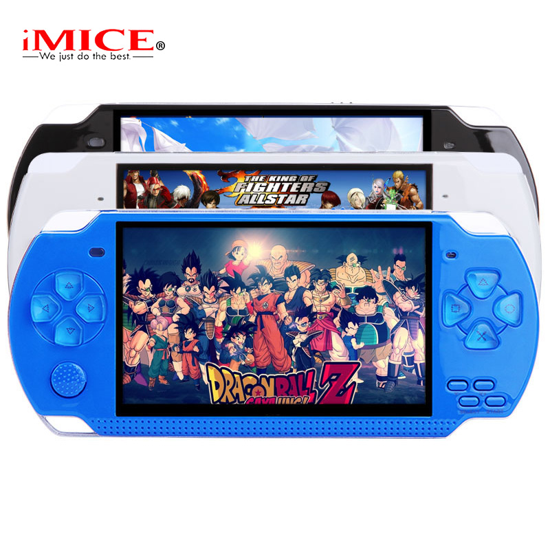 X6 Portable Handheld Game Console 8GB 4.3'' 32Bit 1000 Childhood Classic Games Built-In Portable Handheld Video Game Player 4 styles hdmi av pal ntsc mini console video tv handheld game player video game console to tv with 620 500 games