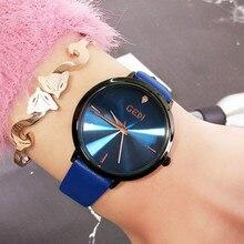Fashion Quartz Watch Leisure Student Wild Female Watches Women Gifts for Ladies Casual Dress 3Bar Creative