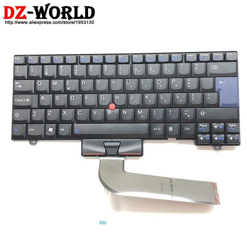 PT Nouveau Original pour Thinkpad SL410 L410 L412 L420 L421 SL510 L510 L520 L512 Portugais Clavier Teclado 45N2375 45N2445 45N2305