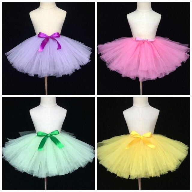 fc3af85de Colorful Girls Tutu Skirts Baby Tulle Skirts Ballet Tutus ...