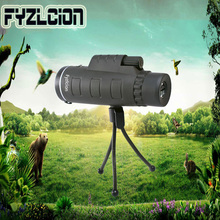 Hot 40x60HD Monocular Telescope HD mini Optical Zoom Mobile For Outdoor Observation Hunting