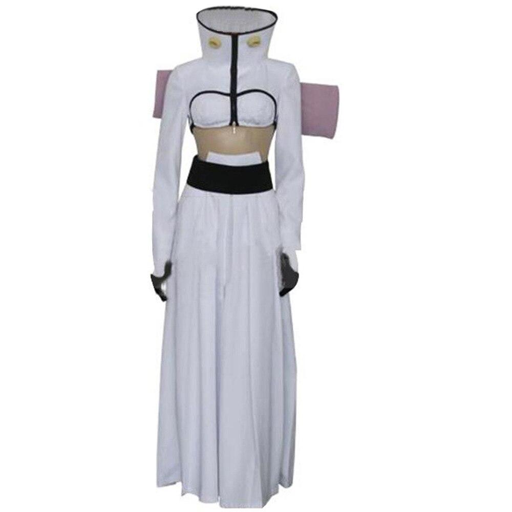 Disfraz de Cosplay Bleach The Tercera Espada halubel, traje de kimono japonés, atuendo personalizado