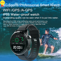 Android часы 2 GB + 16 GB BT IP68 gps 4G Wi Fi телефон 2019 SmartWatch Relogio Смарт часы телефон мужчины для IOS Android pk thro4pro I7 w2
