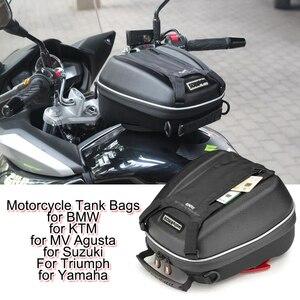 Image 1 - Motorcycle Oil Fuel Tank Bags Pockets Mobile Phone Navigation Bag Fast Unpacking for BMW KAWASAKI HONDA SUZUKI YAMAHA DUCATI