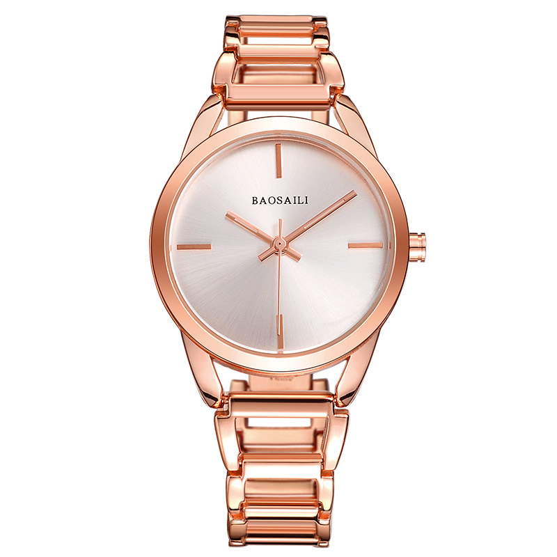 2017 New High Quality Watches Women Gold Watch Steel Strip Rose Gold Sparkling Dress Wristwatch|wristwatch gold|wristwatch women gold|wristwatch women - title=
