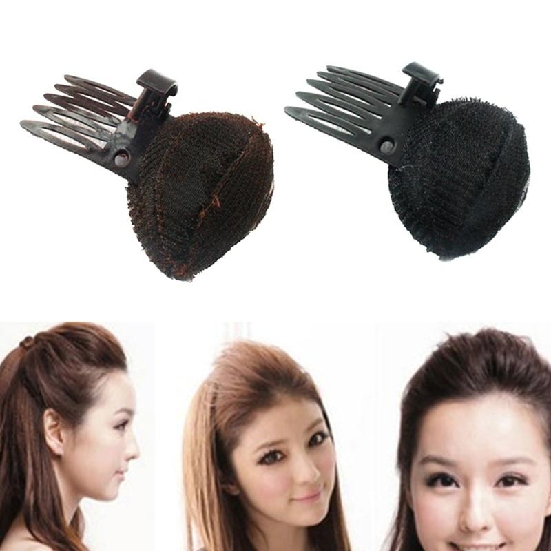 Hot Sale Hair Clip Combs Pad Maker Magic Women Fluffy Tools Sponge Hair DIY Hair Styling Princess   Headwear   Hair Accessories
