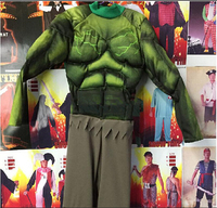 Avengers Hulk Muscle Costumes For Kids Fancy Dress Halloween Carnival Party Cosplay Theme Costume Boy Children