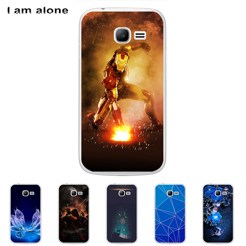 For Samsung Galaxy Star Pro S7260 S7262 4.0 inch Solf TPU Silicone Color Paint DIY Case Mobile Phone Cover Cellphone Shell