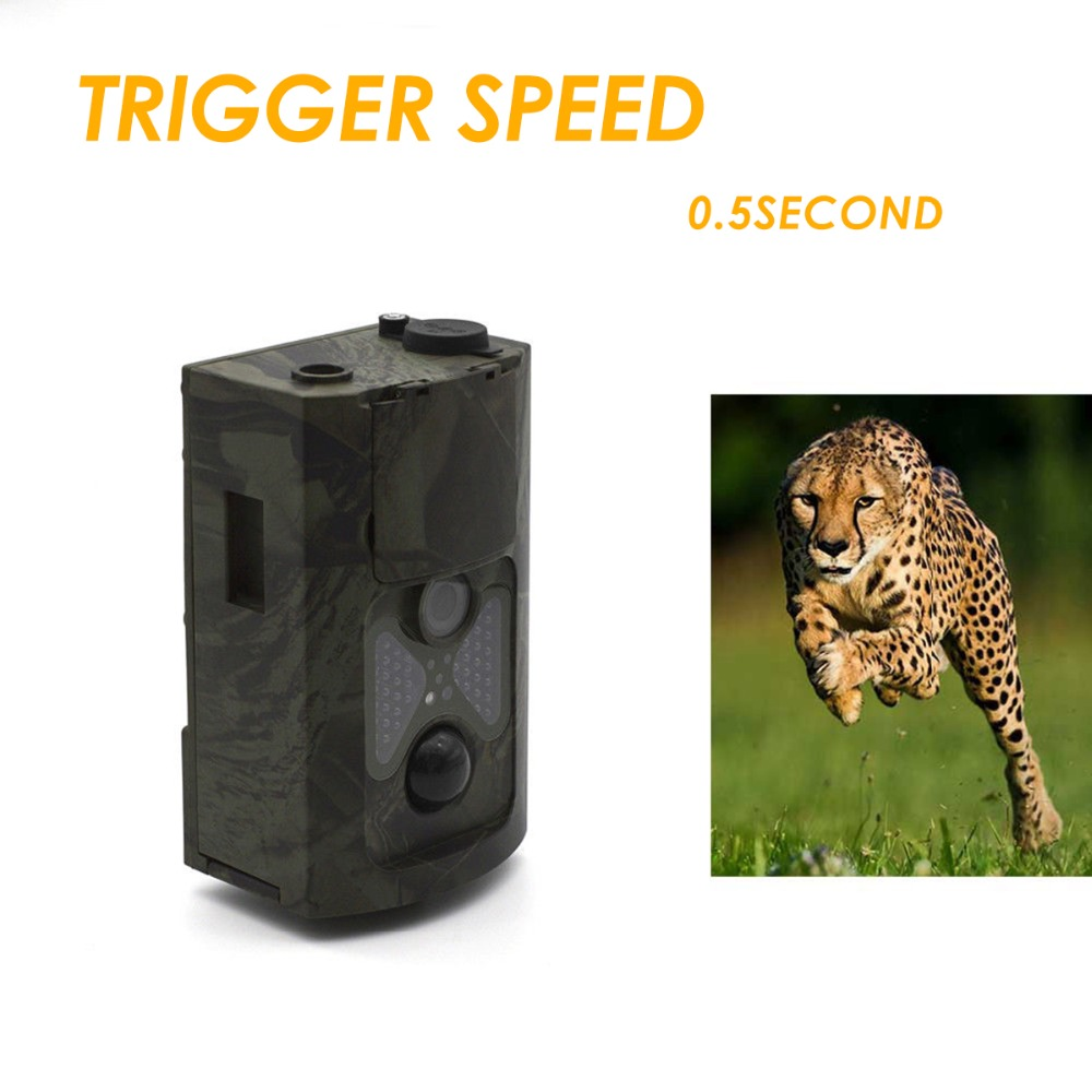 16.0MP chasse caméra Trail Scouting faune Cam Vision nocturne IR coupe infrarouge grand Angle
