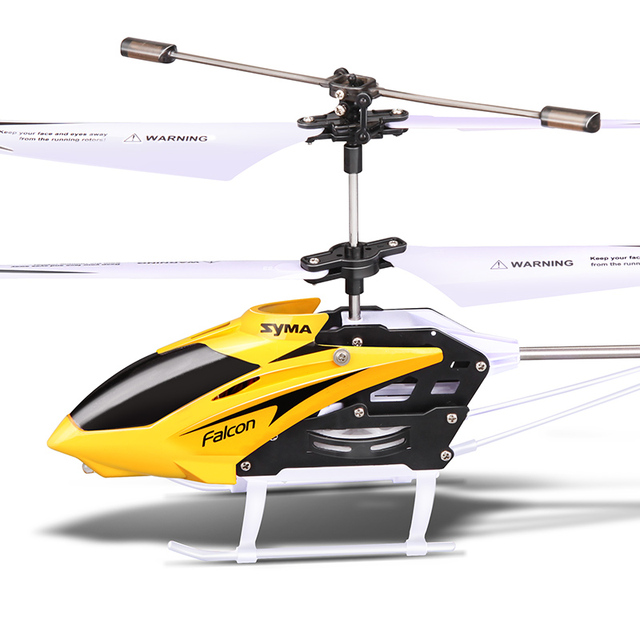 Original Syma W25 RC Helicopter Drone 2 Channel Indoor Remote Control Aircraft with Gyro Radio Control Toys Aeromodelo for Kids