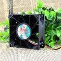 Entrega gratuita. FD128032HB-p 12 v 0.80 A 8032 8 cm grande linha de energia eólica 4 ventiladores de refrigeração
