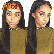9A Italian Yaki Italian Yaki Lace Front Human Hair Wigs Brazilian Virgin Hair Glueless Full Lace Human Hair Wigs For Black Women