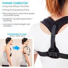 Adjustable Posture Corrector Corset Back Support Brace Band Belt Orthopedic Vest Posture Corrector