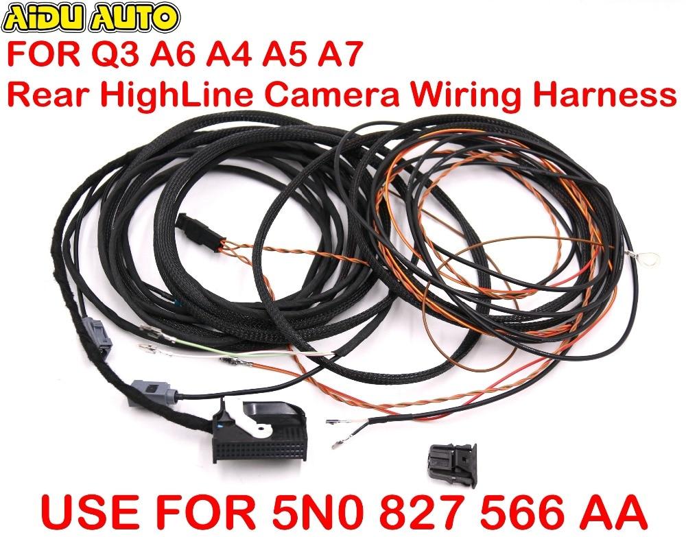 Rear Highline Camera Wiring Harness For Audi Q3 8u0 A6 4g0