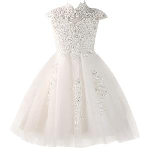 Image 3 - Blume Mädchen Kleider Pageant Prom Party Ball Kleider Mädchen Prinzessin Ehe Wulst Kleid Baby Erwachsene geburtstag Party Kleid