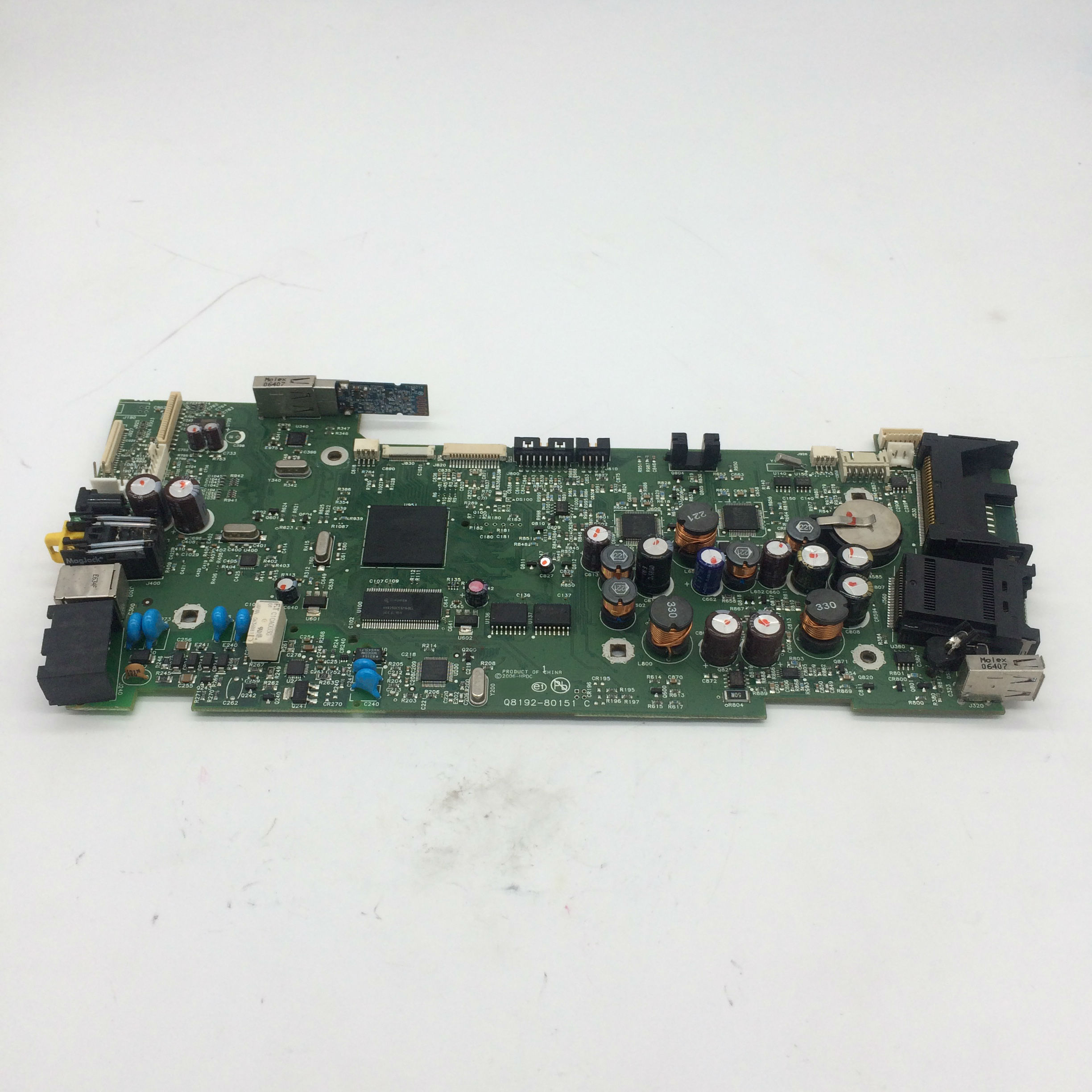 For HP PHOTOSMART C7180 FORMATTER BOARD Q8192-60151 Q8192-80151For HP PHOTOSMART C7180 FORMATTER BOARD Q8192-60151 Q8192-80151