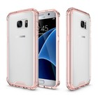 Hot Hybrid Shockproof Cover Air Cushion Technology Case With Crystal Clear Back Shell Sleeve Bag For Samsung Galaxy S7 / S7 Edge