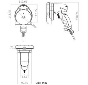 Image 5 - Shawarma ナイフ電気ジャイロナイフジャイロスライサーケバブスライサー