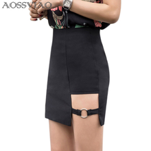 Plus Size Black Pencil Skirt Summer 2019 Bodycon High Waist Skirts Women's Faldas Cortas Saia Tight Sexy Mini Skirt Red S-5XL