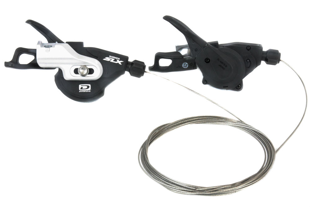 Shimano SLX SL-M670-B Rapidfire I-Spec 2/3x 10 Speed MTB Bike Shifter Set no window запчасть shimano slx m670 b i islm670bipa