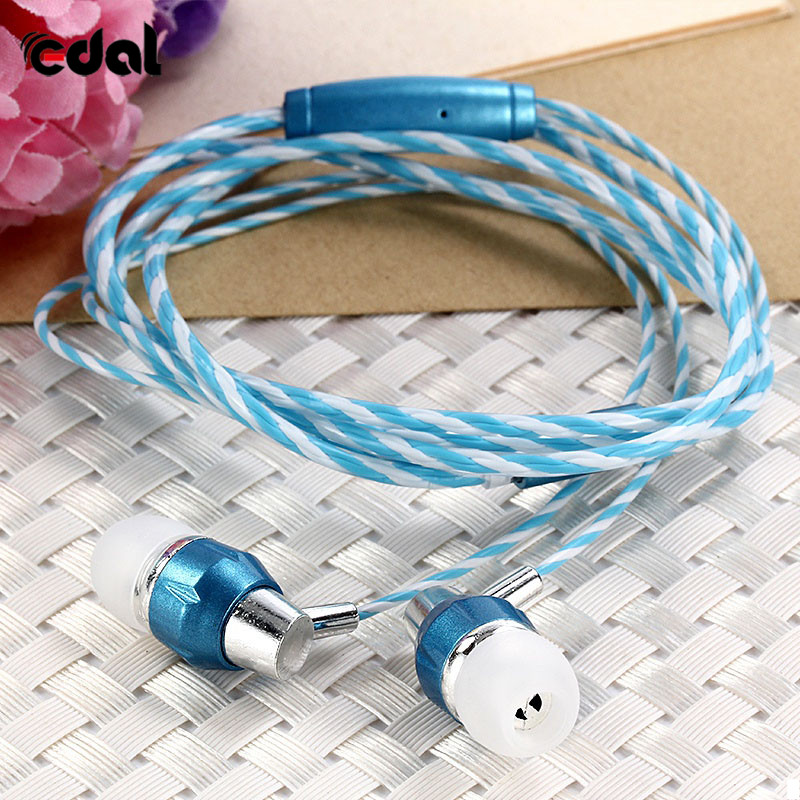 Universal Cell Phone Headphones Wired Stereo Earbuds Earphone With Mic For Mobile Phone