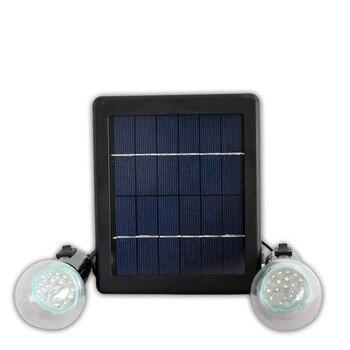 Un orteil un/deux lampadaires solaires de sécurité de réverbère actionnés solaires parfaits pour la zone d'éclairage extérieure
