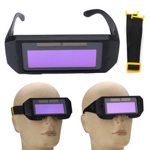 Auto Solar Darkening Welding Glasses Mask Goggles Helmet Eyes 2 Way TU-shop