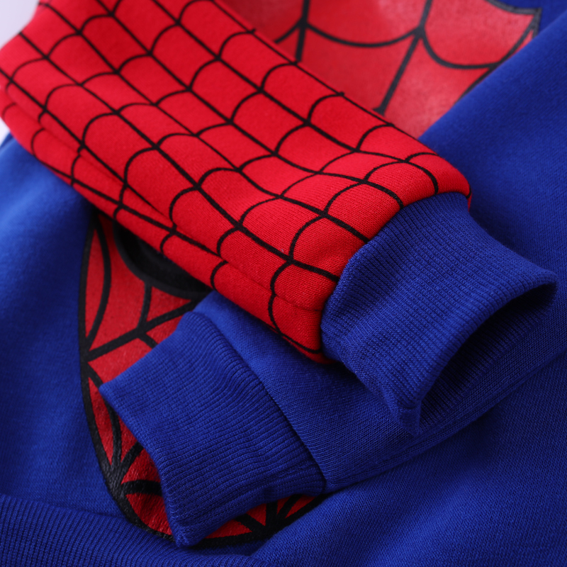 Children Clothing Autumn Winter Toddler Boys Clothes Sets Spiderman Costume Kids Clothes For Boys Clothing Suit 3 4 5 6 7 Year 21