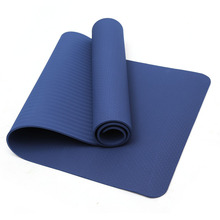 6MM Thick TPE Non-slip Yoga Mats Indoor Fitness Tasteless Yoga Mat Pilates 8 Color Durable Gym Exercise Sport Pads