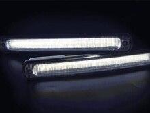 2 pz Universale COB Impermeabile LED Daytime Corsa e Jogging Luce DRL di Guida Lampada Della Nebbia di Guida per Auto Bianco Freddo 12 v