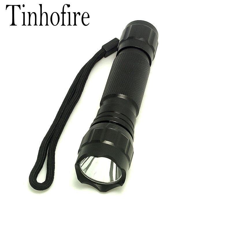Tinhofire WF 501B LED Flashlight XML T6 L2 LED Torch Lamp 2000 Lumens Lantern Light