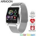 Smart Horloge AK18 Mannen Vrouwen Hartslag Armband Sleep Monitor Bloeddruk Fitness Tracker Waterdicht Kleur Screen Sport Band