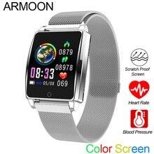 Smart Watch AK18 Men Women Heart Rate Bracelet Sleep Monitor Blood Pressure Fitness Tracker Waterproof Color Screen Sports Band недорого