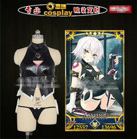 Anime FGO Fate Grand Order Fate Go Assassin Cosplay Costume Fight Clothing Black Custom Made Suits