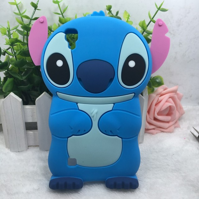 ceafe5035f2 Cartoon Lilo Stitch Case For Capas Para LG X Style K200DS 5.0 Funda  Silicone 3D Case Back Cover Luxury Mobile Phone Cases Gift