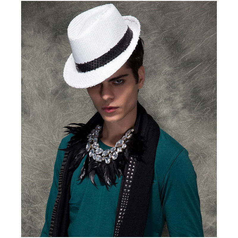 f8a7a9a70a0 Hot sale men fedora hat fashion dress men top hat British style fedora hats  for men brand men hat-in Fedoras from Apparel Accessories on Aliexpress.com  ...
