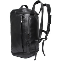 J.M.D для мужчин s кожаная дорожная сумка Винтаж Duffle Сумки Большой дорожная сумка в деловом стиле с плечевым ремнем Bagpack X 6010A