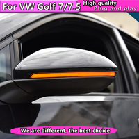 Car Styling For Volkswagen 2013 2018 Golf 7 golf 7.5 rear view mirror turning lamp rear view mirror lamp +Dynamic turn signal