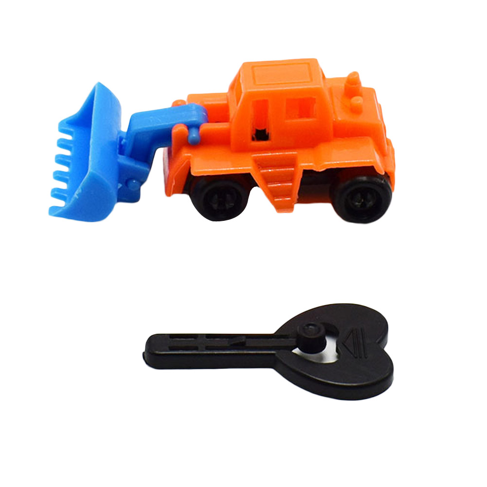 Novelty Ejecting Quite Force Engineering Car Toy Model Small Toys For Kids Gift Color Random