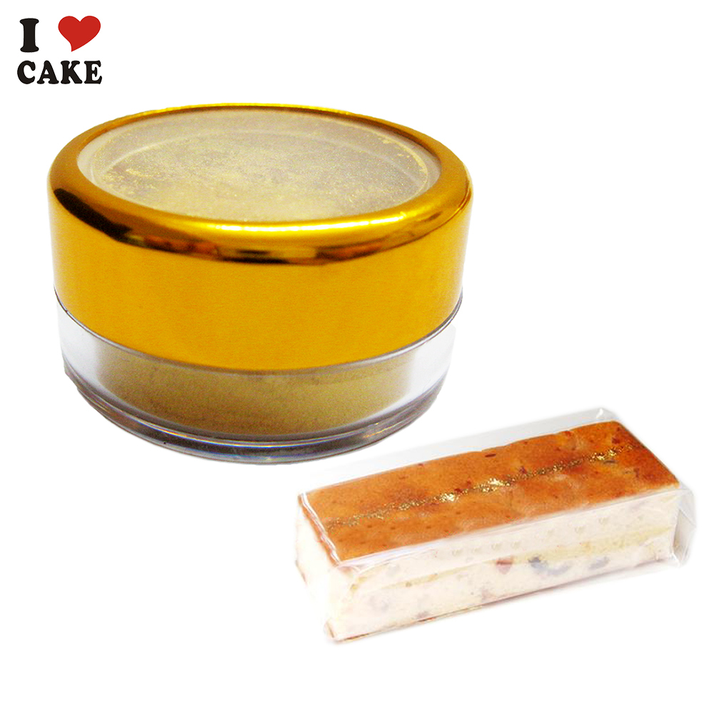 Edible Glitter from ITALY BARND ALISEI for cake decoration cake color food grade powder 3g golden Powder Sprinkles FREE SHIPPING