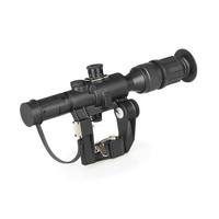 Hunting Sniper Gear 4x26 SVD Red Illuminated PSO 1 Type Riflescope For Dragonov Air Rifle Series