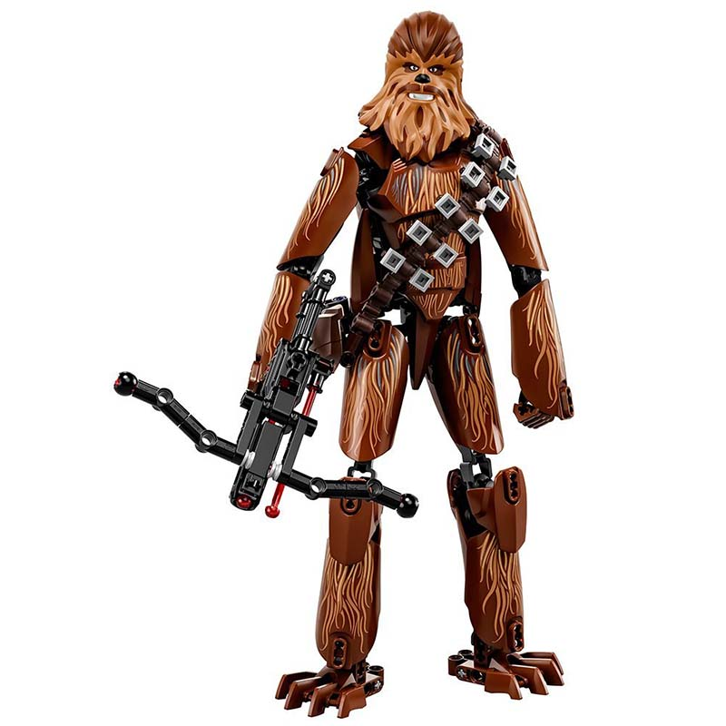 DIVERSION Star Wars Episode VIII Chewbacca blocks figure Building Kit toys for children birthday christmas gift wisehawk nano star wars yoda building blocks big size characters figure educational toys diy assembly micro brick christmas gift