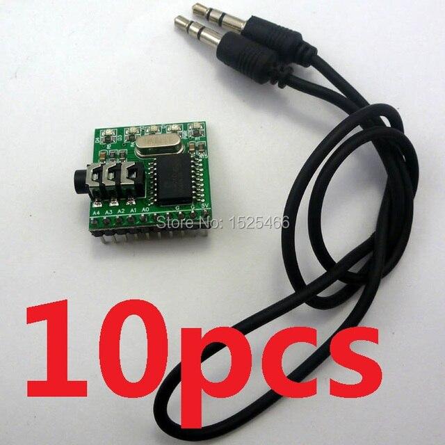 10pcs MT8870 DTMF Receiver Telephone Dial Tone Decoder Phone Voice Control Module