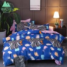 WAZIR Bohemian Palace Luxury Print Bedding Set Duvet Cover Pillowcase Bed Sheet comforter bedding sets bedclothes bed linen
