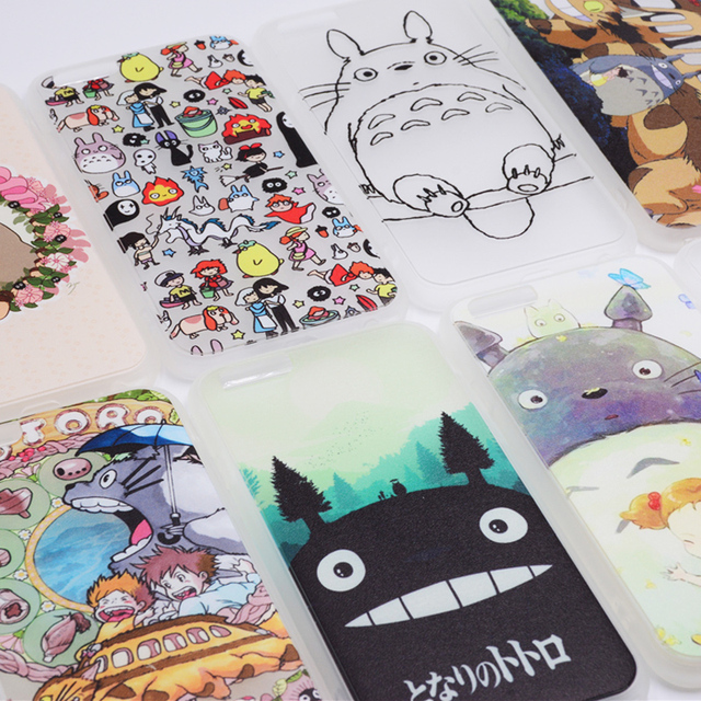 Totoro Phone Cases for iPhone 5S 5 SE 6S 6 7 Plus